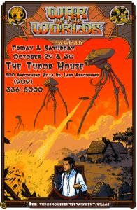 KVBB to perform 'War of the Worlds' Halloween weekend at Tudor House in Lake Arrowhead